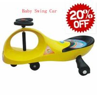 Baby swing car with music