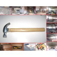 Claw hammer with wooden handle thumbnail image