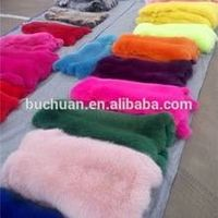 2016 WINTER Top Quality Fox Fur Blanket