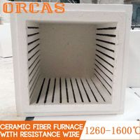 Customized Ceramic fiber heating furnace with resistance wire thumbnail image