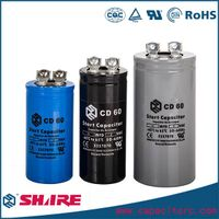 Refrigerator Compressor Starting Capacitor, CD60 Capacitor
