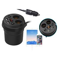 Smart car chargerwith cigarette lighter thumbnail image