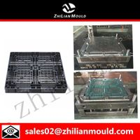 Four way plastic pallet mould