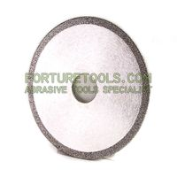4 inch Electroplated diamond CBN cutting wheel super thin high precision cutting disc thumbnail image