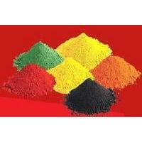 iron oxide red/yellow/black/green