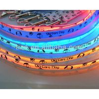 LED Dog leash with big ears printing