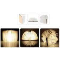 portable LED folding lamp book