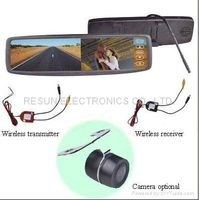 """2.4GHz Wireless Car Rear View Camera System With 4.3"""" Mirror LCD Monitor thumbnail image"""