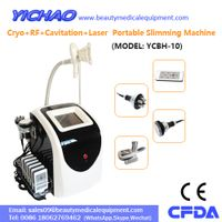High Effective Lipolaser RF Cavitation Cryoliplysis Body Slimming Beauty Equipment