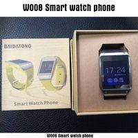 waterproof Android watch phone dual core 1.2GHz Android 4.0 GSM Smart phone watch with touch screen  thumbnail image