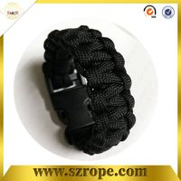 survival paracord bracelet/braided bracelets