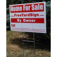 Colourful PP Coroplast Yard Sign