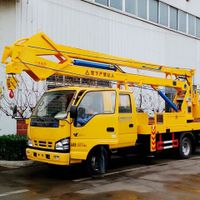Japanese I-SUZU 16m aerial platform high attitude operation truck for factory price sale thumbnail image