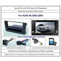 AUDI A6 2002-2004 Car DVD Player / GPS Navi / Original Factory  Panel / Rear Camera / Map Card thumbnail image