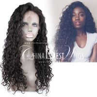 long curl virgin wig hair