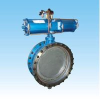 pneumatic gas Fast switching butterfly valve
