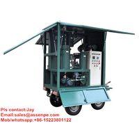 Mobile Transformer Oil Purifier,Skid Transformer Oil Treatment Machine