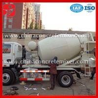Top technical concrete drum truck