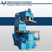 Foundry Sand Jolt squeeze molding machine for green sand casting production