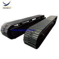 60 ton Mobile crusher crawler steel track undercarriage