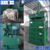 Factory Price Waste Plastic Compressing Machine PET Compactor
