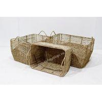 Eco-friendly seagrass storage baskets-SD1226A-3NA thumbnail image
