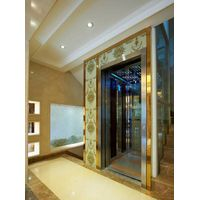 Luxurious Machine roomless Sightseeing Home lift Villa Elevator