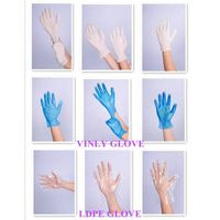pvc glove skin color cheap disposable colored vinyl gloves