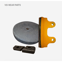 ROTOR · ROTOR/BACK-UP TIP · TIP/CAVITY WEAR PLATE · FEED EYE RING · DISTRIBUTOR CONE · FEED TUBE · U