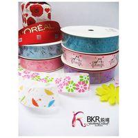 printed ribbons of nylon, polyester and stain materials thumbnail image