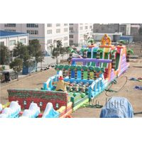 giant adults inflatable obstacle course inflatable sports thumbnail image
