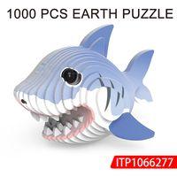 puzzle toys 3D shark puzzle