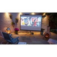 OEM Matte White Tripod Standing Screen Portable Projection Screen for Projector Outdoor indoor 100 i thumbnail image