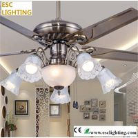 modern ceiling fan with light five lights