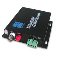 Mini 1 Channel Digital Video Optic Transceiver