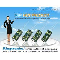 Kt Kingtronics New Series: GKT-- Aluminum Electrolytic Capacitor