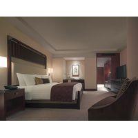 Luxury Zebrano Veneer Finished High End Bedroom Furniture Set / Full Size Bedroom Sets