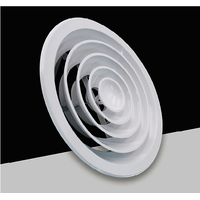 Ventilation Aluminum Ceiling Circular Round Air Diffuser