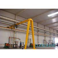 CH(W)B Series Half beam gantry crane, mobile gantry crane with chain hoist thumbnail image