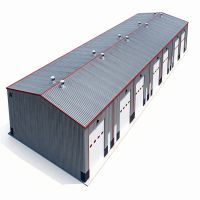 prefab multi story steel warehouse for agriculture