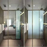 High Electrified Privacy Glass, Frosted Laminated Safety Glass