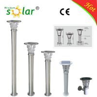 New China manufacture  lighting CE led solar garden light