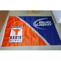 custom kind of nylon logo flag or banner