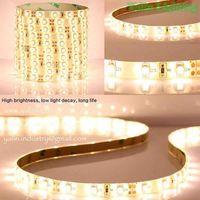 5050SMD 60 LED strip lights, warm white 2700K 3000K holiday rope lighting thumbnail image