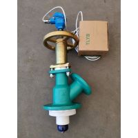 Glass-lined Bottom flush valve with temperature sensor thumbnail image