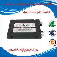 GLSUN 4x4 Multi-Channel Fiber Optical Switch