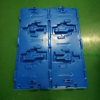 customized vacuum forming extra large plastic auto spare parts tray thumbnail image