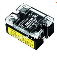 free shipping Single phase AC solid state relay SAP4810D input 3-32VDC 10A SSR DC to AC relay
