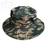 Camouflage hunting bucket hat