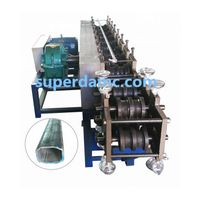 Metal Flat Oval Tube Production Equipment